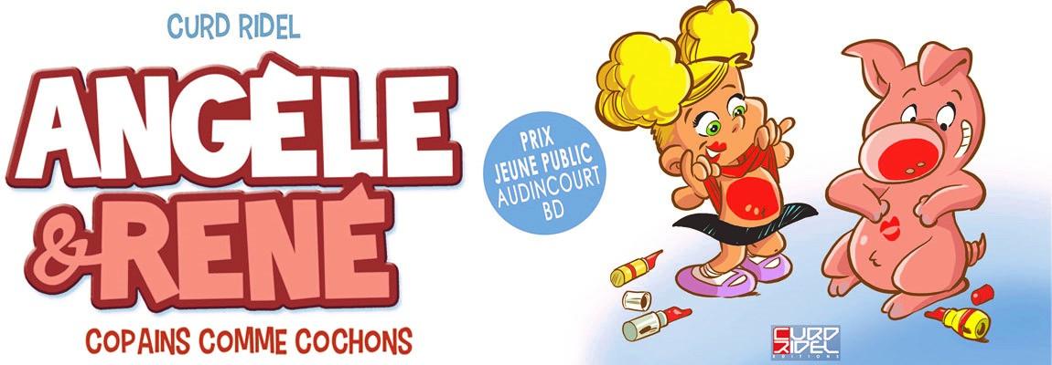 Angèle & René – Copains comme cochons : Tome 1 enfin disponible