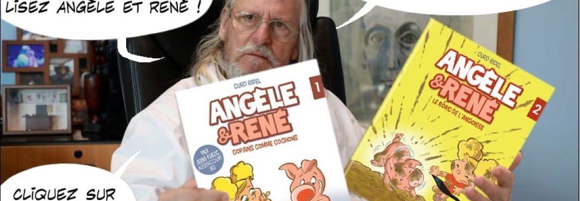 Angèle et René – Tome 2 – Le porc de l'angoisse