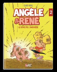 Angèle et René - Tome 2 - Couverture