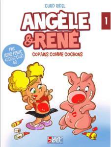 Angèle et René - Tome 1 - Grand Format - Couverture