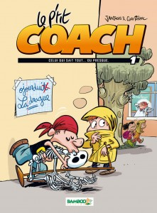 Le P'tit Coach - Couverture