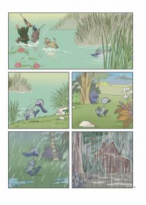Le vilain petit Canard - Tome 1 - Planche 2
