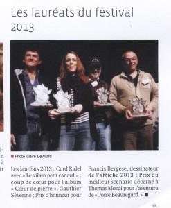 Festival 2013 - Curd est Laureat