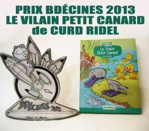 Prix BD - Cinés 2013 - Le Vilain Petit Canard